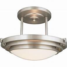 Contemporary Flush Mount Ceiling Lights Quoizel El1284cb Electra Modern Contemporary Semi Flush