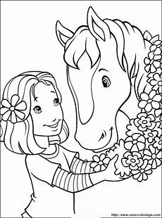 ausmalbilder pferde bild blumen als geschenk