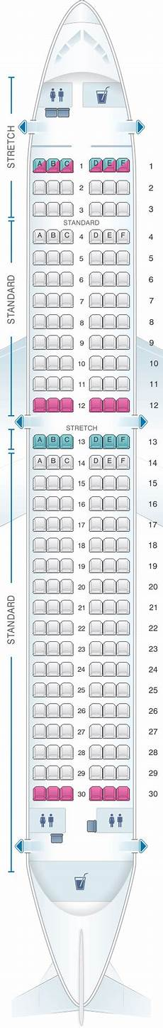 Airbus A320neo Seating Chart Frontier Airlines Seat Map A320 Brokeasshome Com