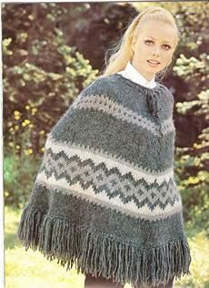 poncho knit poncho pattern vatnajokull by suerock on etsy