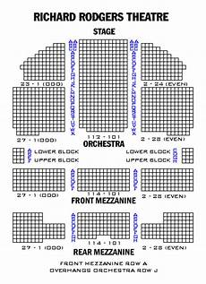 Richard Rodgers Theatre New York Ny Seating Chart Richard Rodgers Theatre Playbill