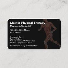 Physical Therapist Business Cards Physical Therapist Business Cards Business Cards 100