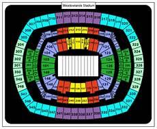 Metlife Virtual Seating Chart Metlife Stadium Seating Chart For Concerts