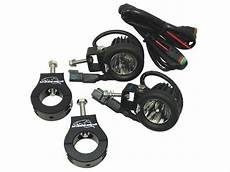 Motorcycle Led Light Kit Lazer Star Lights 10 Watt Led Light Clamp Kit Lxk2001 125