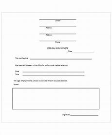 Printable Fake Doctors Notes Free Fake Doctors Note Template For Work Or School Pdf