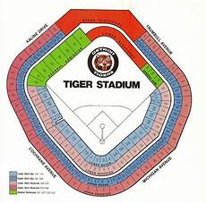 Detroit Tigers Seating Chart With Rows 15 Best Baseball Stadium Seating Images On Pinterest