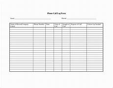 Call Log Template For Excel 10 Call Report Template Excel Excel Templates Excel