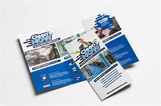 Tri Fold Poster Templates Cleaning Service Tri Fold Brochure Brochure Templates