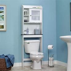 sauder bath the toilet shelf cabinet bathroom free