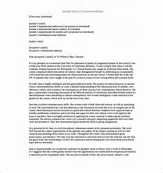 Peer Recommendation Letter Sample 11 Recommendation Letters For Employment Free Sample