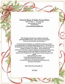 Funeral Invitation Sample Memorial Service Invitations