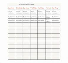 medication calendar template medication schedule template 14 free word excel pdf