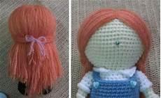 tutorial to make hair for an amigurumi doll sayjai