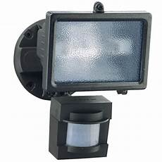 Lowes Security Lights Secure Home 110 Degree Bronze Halogen Motion Activated