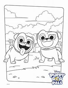 Bingo Coloring Pages Bingo And Rolly Coloring Page Activity Disney Family