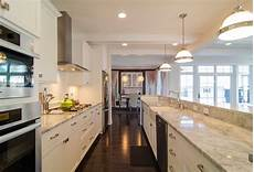 galley kitchen with island layout 30 beautiful galley kitchen design ideas decoration
