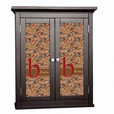vintage cabinet decal large personalized