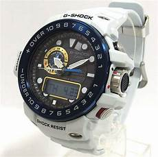 G Shock Light Button Casio G Shock Light Grey Gulfmaster Triple Sensor Solar