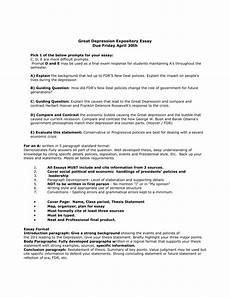 Essay About Great Depression 5 Paragraph Essay About The Great Depression 5 Paragraph