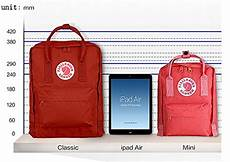Fjallraven Backpack Size Chart Fjallraven Kanken Mini Backpack Daypack Pink Buy Online