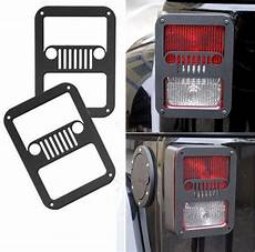 Rear Light Cover 1 Pair New 2015 Black Light Guards Covers Rear Lamp