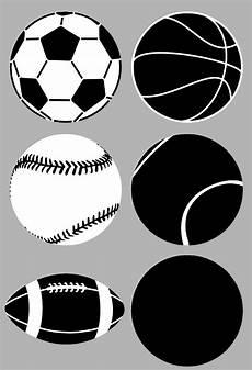 Football Stencil Printable Sports Balls Stencil Sp Stencils