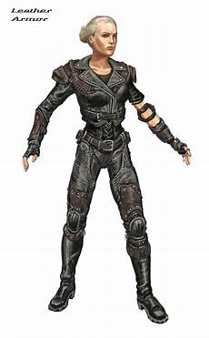 Fallout New Vegas Light Armour Image Leather Armor Ca4 Jpg The Fallout Wiki Fallout