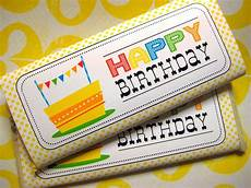 Free Birthday Candy Wrapper Template Free Happy Birthday Candy Bar Wrapper Printables Candy