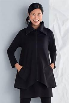 cloth coats sassy ponte sassy cowl jacket by f h clothing co knit jacket