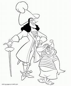 captain hook coloring book coloring coloringpages