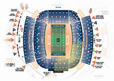 Auburn University Football Stadium Seating Chart Parking Information Auburn Tigers Basketball Scores