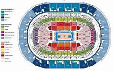 Chesapeake Energy Seating Chart Chesapeake Energy Arena Oklahoma City Ok Seating Chart View