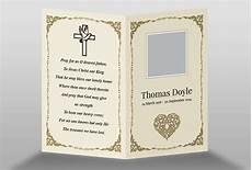 Free Printable Memorial Templates Free Memorial Card Template In Indesign Format Download