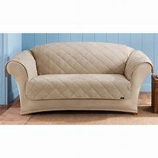 sure fit 174 reversible suede sherpa loveseat pet cover