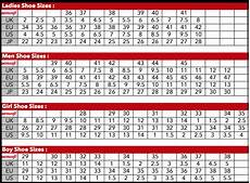 Hermes Shoe Size Chart Size Charts Aerosoft