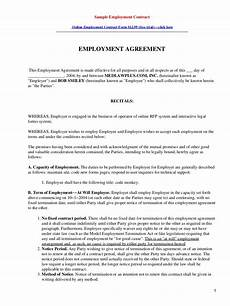 Bill Format For Works Contract Sample Employment Contract