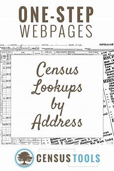 Phone Listing By Street Address Find A Census Listing By Street Address Censustools
