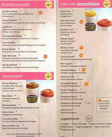Tropical Smoothie Cafe Calorie Chart Tropical Smoothie Menu Smoothies Google Search