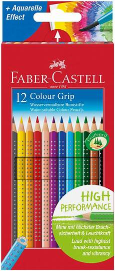 Faber Castell Malvorlagen Ebay Faber Castell Colour Grip Pencils Assorted Colours Pack