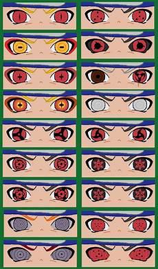 Naruto Eye Chart Chibi Eyes By Naruttebayo67 Olhos De Anime Desenho De
