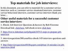 Interview Question And Answers For Customer Service 125 Customer Service Interview Questions And Answers Pdf