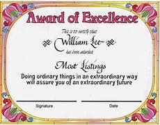Academic Award Certificate Award Certificates Award Of Excellence Certificate Award