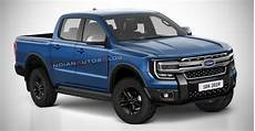 Ford Ranger 2020 Model by Next 2022 Ford Ranger Imagined Iab Rendering