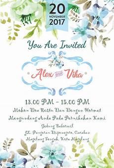 undangan pernikahan wedding invitation kode uno 04