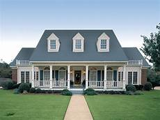 Creole Home Designs Symmetrical Creole 55067br Architectural Designs