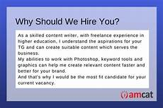 How To Answer Why Should We Hire You Interview Questions For Freshers Tell Me About Yourself