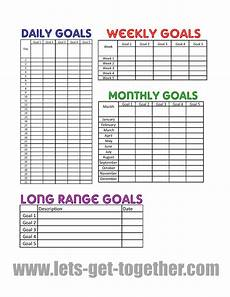 Goal Tracking Chart New Year Goal Setting Tips Free Printable