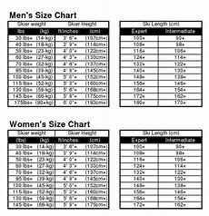 Girls Ski Size Chart How To Buy The Right Size Skis The House