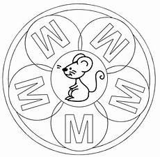 www kinder malvorlagen buchstaben mandala kostenlose malvorlage mandalas mandala buchstabe m zum