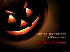 Halloween Power Point Template Free Skull Halloween Ppt Template